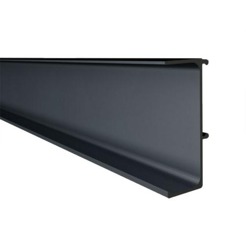 GOLA PROFILRENDSZER 80/G38.AL09 PROFIL 4200x48,2x17mm FEKETE