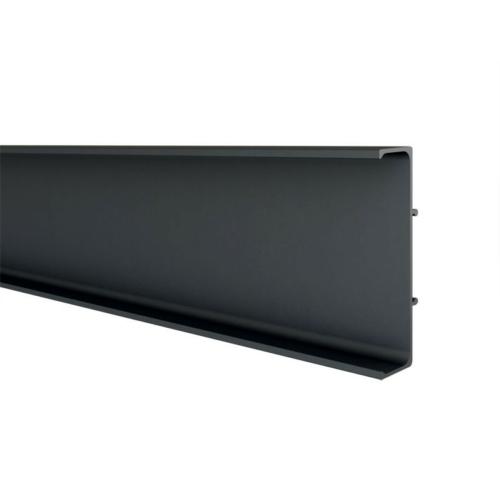 GOLA PROFILRENDSZER 80/G39.AL09 PROFIL 4200x66,4x17mm DUPLA FEKETE